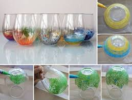 diy colorful vase decor home design garden architecture blog