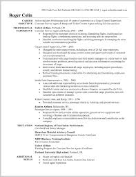 Aviation Resume Services Aviation Resume Services 24 Sample Airline Customer Service Agent 8