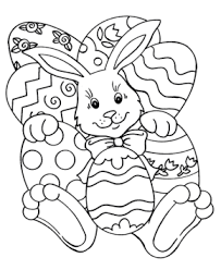 Small Picture Printable easter bunny coloring pages Coloringpagebookcom