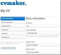 Make A Free Resume Online Sonicajuegos Com