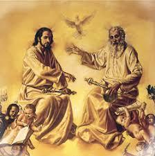 Znalezione obrazy dla zapytania bóg ojciec syn boży i duch święty