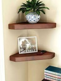 home sparkle set of 2 corner wall shelves shelf unit ikea