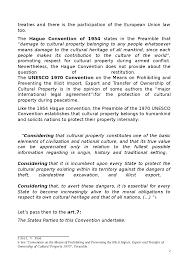 essay protection of cultural heritage docsity questa e solo un anteprima