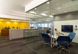 Modern office designs photos Private Office Outsell Photo By Jasper Sanidad The Line Media Modern Office Designs For Fastgrowing Creative Companies That
