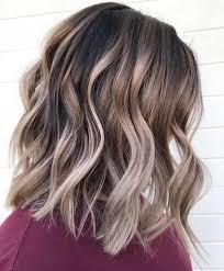 10 Creative Hair Color Ideas For Medium Length Hair Medium Haircut 2019