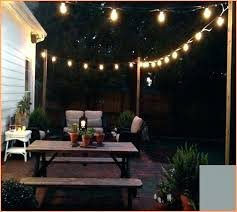 Outdoor Porch Lights String S Outdoor Patio String Lights Lowes