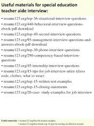 Objective For Teacher Resume Special Education Resume Objective 70
