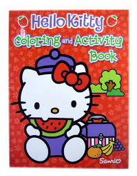 Hello kitty on giant pencil. Buy Sanrio Hello Kitty Coloring Activity Book Hello Kitty Coloring Book In Cheap Price On Alibaba Com