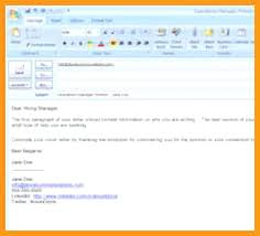 email sending resumes how to send resume via email sample topshoppingnetwork com