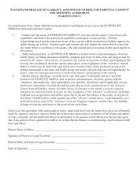 Images Of Legal Waiver Template Liability Release Waiver Form ...