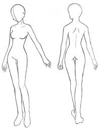 Body Template Anime Buscar Con Google Anatomy And Figure Drawing