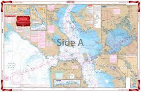 San Francisco Bay Nautical Map Chart