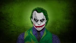 Heath Ledger as The Joker Wallpaper 4k ...