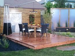 deck to patio designs