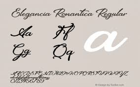Forte Fonts Free Download Elegancia Romantica Font Free Download Dafont Free