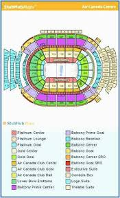 Acc Centre Seating Chart Air Canada Centre Map Secretmuseum