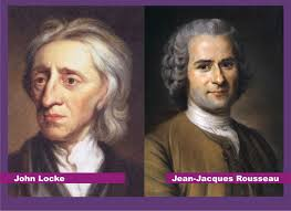 comparison of view s of rousseau hobbes and locke