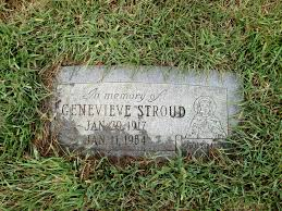 Genevieve Stroud (1917-1964) - Find A Grave Memorial