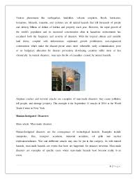 disaster management case study 8
