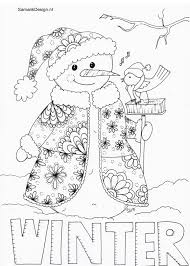 Winter Doodle Kleurplaten Voor Volwassenen Colouring For Adults