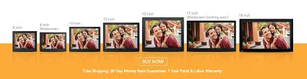 nix advance frames high resolution led digital photo frames