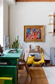 eclectic home office. my houzz brin u0026 nate eclectichomeofficeandlibrary eclectic home office