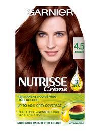 Garnier Nutrisse 4 5 Auburn Red Permanent Hair Dye