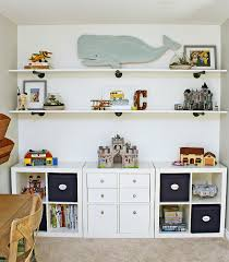 kids bedroom organization ikea storage unit and diy shelving to keep toys neat and organized