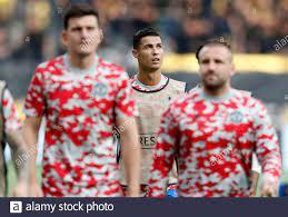 Fußball - Champions League - Gruppe F - BSC Young Boys gegen Manchester  United - Stadion Wankdorf, Bern, Schweiz- 14. September 2021 Cristiano  Ronaldo von Manchester United beim Aufwärmen vor dem Spiel REUTERS/Arnd  Wiegmann Stockfotografie - Alamy