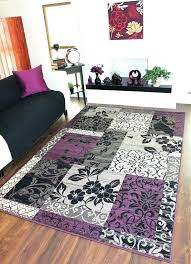black area rugs grey and purple rug s gray large