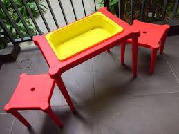 ikea utter water sand play lego table w