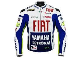 rossi yamaha team racing leather jacket
