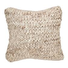 deimer chunky wool cable knit throw pillowl home design rug k 23t cool