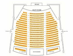 Theater Of The Clouds Seating Chart Seating Chart Columbia Theatre Longview