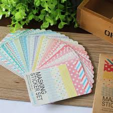 Labelling Art Scrapbooking Masking Tape Craft Stickers Pack Decorative Labelling