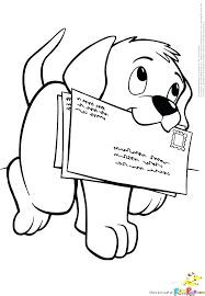 Cute Dog Coloring Pages Picture Of A Cute Dog Coloring Page Cute