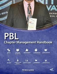 Fbla Web Design Chapter Management Handbook Fbla Pbl