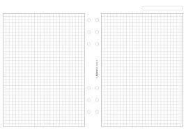 Filofax Fogli Per Appunti A5 A Quadretti Colore Bianco Amazon