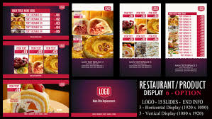 Free Signage Template Digital Signage After Effects Templates From Videohive