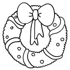 Small Picture wreath coloring page