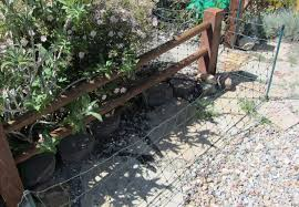 electric fence around vegetable garden