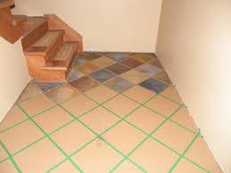 ceramic tile over concrete bat floor design ideas