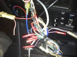 e30 dash ac computer not illuminating lights on above so according to the wiring diagram the rear speaker outputs don t even go to the rear speakers the front speaker wires only appear to go to the