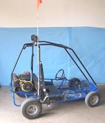 2-Seat, Go Kart (Go Cart / GoKart) with 6.0 HP Tecumseh Power Sport ...