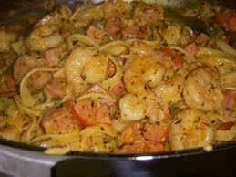 cajun shrimp sausage pasta