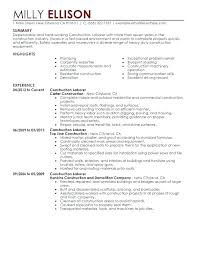 Resume Samples For Free Construction Superintendent Resume Templates