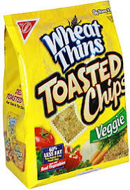 wheat thins toasted chips