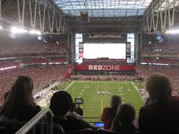 University Of Phoenix Seating Chart Arizona Cardinals Seating Guide State Farm Stadium