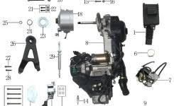 v8 chevy 350 engine exploded view v8 engine problems and chinese 125cc atv wiring diagram at 110cc Atv Engine Diagram