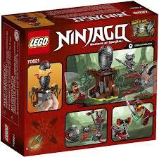 Amazon.com: LEGO Ninjago The Vermillion Attack 70621 Building Kit ...
